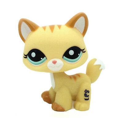 Hasbro Littlest Pet Shop Walking Cat Kitty LPS Figure Collection Loose Toys