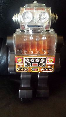 Vintage Toy 1970's  HORIKAWA PISTON ROBOT MADE IN JAPAN Mint