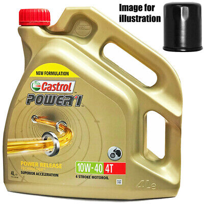 Ducati 1200 Diavel 2012 Castrol 10w40 Oil and Filter