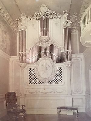 1897 AEOLIAN PIPE ORGAN New York City 5th Ave. CHARLES HENRY DAVIS PHOTOGRAPHER