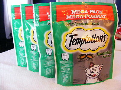 WHISKAS DENTABITES - MEGA PACKS - SAVE ON 4 PACKAGES - CAT TREATS - 520 g