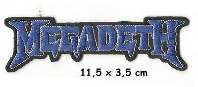 Megadeth - logo patch - FREE SHIPPING
