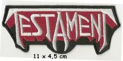 Testament - Logo patch - FREE SHIPPING