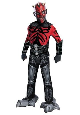 Star Wars Darth Maul  Child Deluxe Costume by Rubies 881360, Small