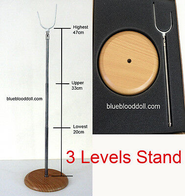 1/3 1/4  bjd 43-80cm 3 levels support doll stand dollfie iplehouse luts ship US