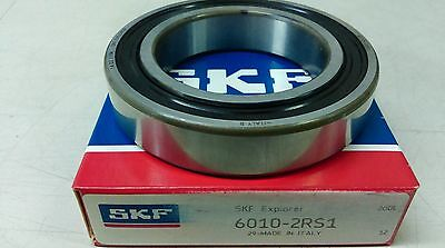 SKF 6010 2RS1  Deep Groove Bearing  50X80X16 mm Rubber Sealed