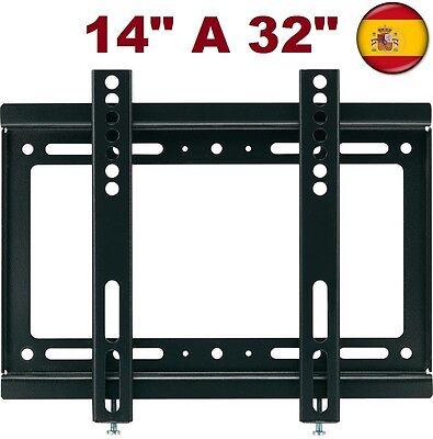 "Soporte de pared tv plano lcd led plasma monitor para  14"" A 32"" universal"
