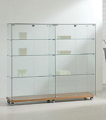 Showcase 157X40X140H - Ve160140 tempered glass Furnishing Accessories