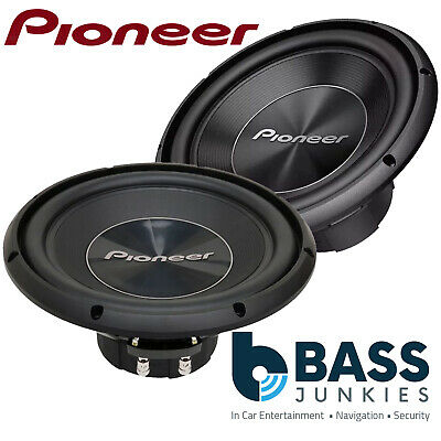 "Pioneer TS-W311D4 12"" Inch 30cm 1400 WATTS Dual Voice Car Sub Bass Subwoofer"