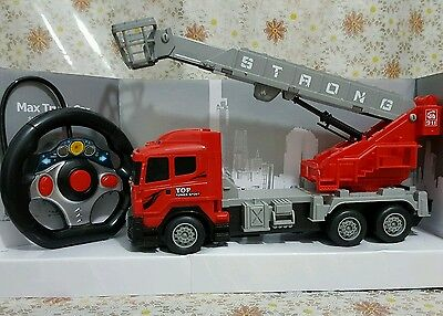 RC Remote Control Fire Engine Engineering Machine  Power Truck UK Fast Delivery