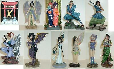 Anime-X figure collection - complete set of 10 - Very Rare