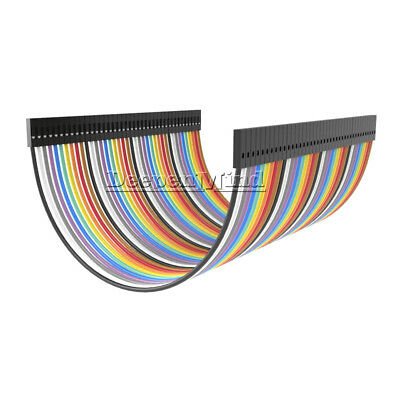 40PIN Dupont Wire Ribbon Jumper Cables 10cm Female To Female 1P-1P For Arduino