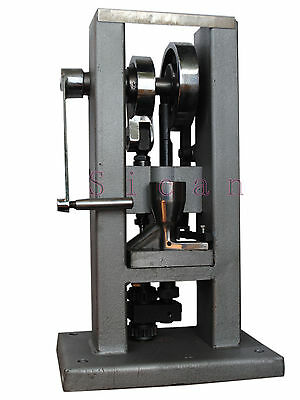 Manual Single Punch Tablet Press Pill Making Machine Tablet Less Than 6Mm