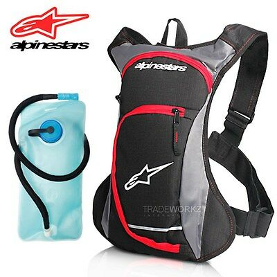2L ALPINESTARS Hydration Water Bag Pack Backpack Rucksack Hiking Camping Bladder