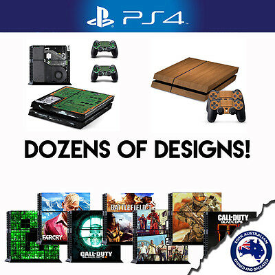 Playstation 4 Console Sticker | Decal | Cover | Skin Designs for PS4
