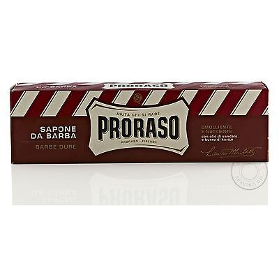Proraso NEW Shaving Cream Tube - Sandalwood and Shea Butter - 150ml