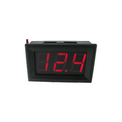 High Precision Car RED LED Wired DC Volt Meter Monitor Indicator Meter Gauge NEW