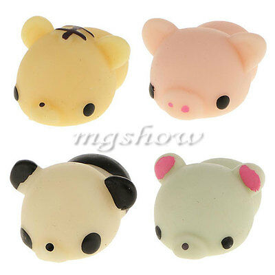 Anti Stress Pig Soft Reliever Ball Autism Mood Squeeze Toy Kids Child Xmas Gift