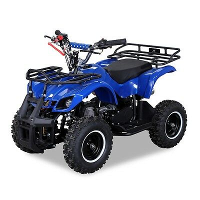 49cc Kinder Quad Miniquad TORINO blau Kids Mini Benzin ATV Kinderquad NEU