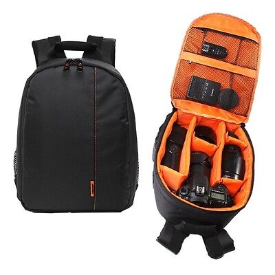 New Hot Waterproof Camera DSLR Lens Backpack Case Bag Green Orange TG