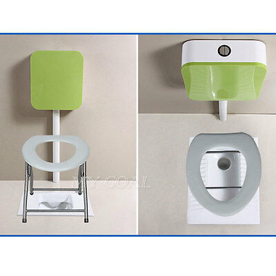 Portable Folding Toilet Seat Camping Travel Fishing Caravan Outdoors Park Loo WC