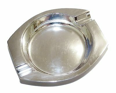 Vintage Fully Hallmarked Sterling Silver Plain Ash Tray (1944)