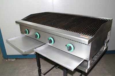 BBQ Gas Char Broiler