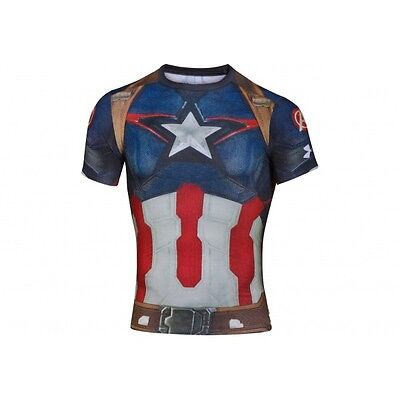 T-shirt de Compression Under Armour Alter Ego Transform Yourself Suit Captain A
