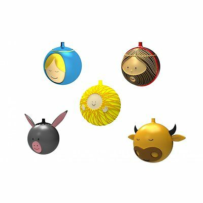 Alessi Set of 5 Christmas Baubles
