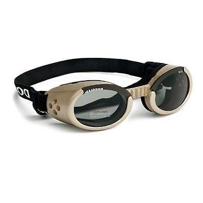 SUNGLASSES FOR DOGS by Doggles - CHROME COLOR - MEDIUM