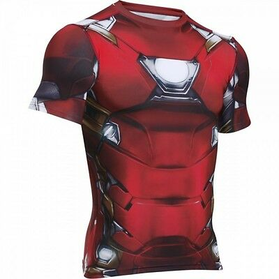 Maillot de compression Iron Man Suit Under armour pour homme