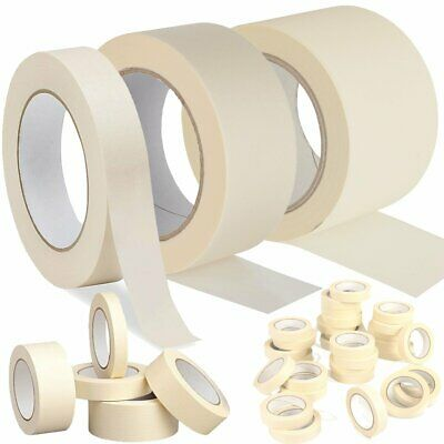 Art Craft Masking Tape 50M X 25Mm-50Mm Indoor Decorating Painting Easy Tear
