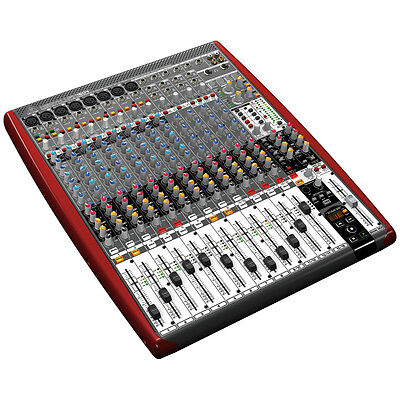 BEHRINGER XENYX UFX1604 16-Channel 4-Bus Mixer USB/FireWire Interface Multi-FX