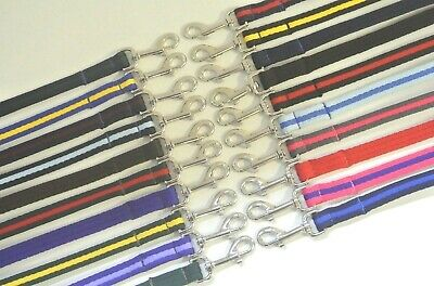 Dog Lead Leash 20mm 25mm Soft Padded Cushioned Air Webbing In Various Colours
