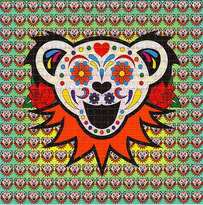 Grateful Dead SUGAR BEAR -  BLOTTER ART Psychedelic Perforated Acid Free Art