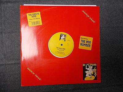 """The 45 King The King Is Here 12"""" Dance Trax / Doctor Beat 1989 DRX 912"""