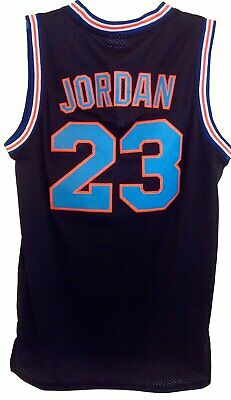 online store c4161 7fdf9 MICHAEL JORDAN TUNE Squad Black Jersey Space Jam Basketball MJ 23 Costume  Movie