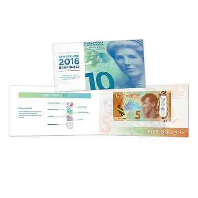 NZ 2016 BRIGHT MONEY BANKNOTE SET $5, $10, $20, $50 and $100!!! RARE!