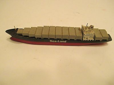 Sea Land Container Ship Near Mint Condition