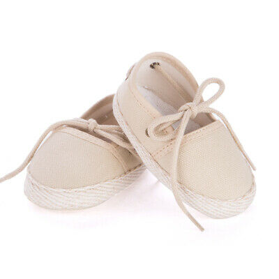 NEW Mon Petit Chausson Dictine Beige Shoes 3-6 Months