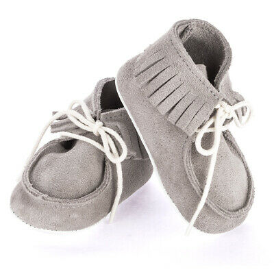NEW Mon Petit Chausson Dolmen Grey Shoes 3-6 Months