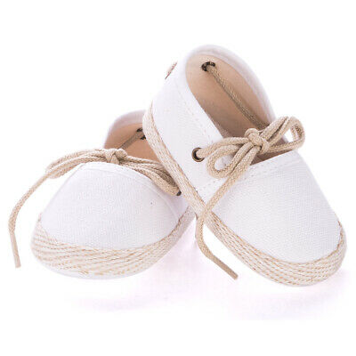 NEW Mon Petit Chausson Dictine White Shoes 6-12 Months