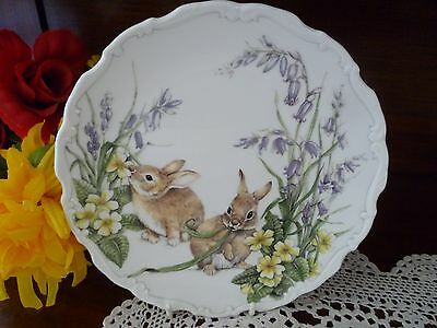 Royal Albert Spring Capers   Plate  Made In England