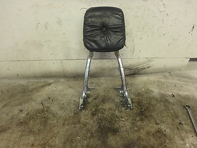 1989 Yamaha Virago XV 750 XV750 Sissy Bar Back Rest With Pad