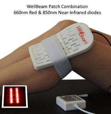 Comb Red Light Therapy device, WellBeam Aust made - Skin Rejuv, healing, pain