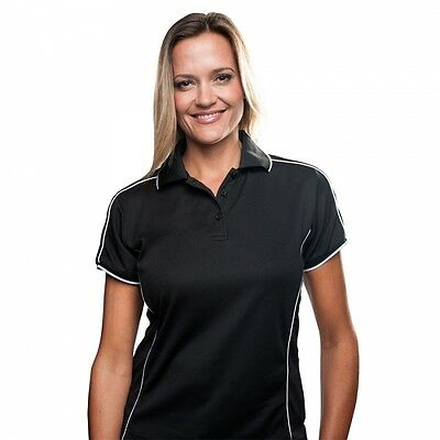 Sporte Leisure Ladies BIRKDALE Golf Sport Polo Shirt with Coloured Design Detail