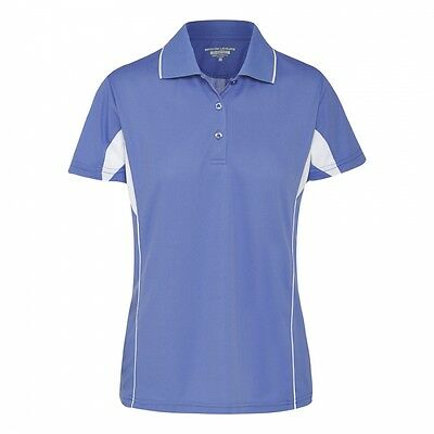 Sporte Leisure Ladies RACE Golf/ Sports Polo Shirt with Coloured Design Detail