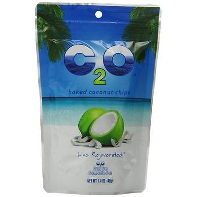 C20 Pure Coconut Water 6810003 Baked Coconut Chips, 12 Per Box