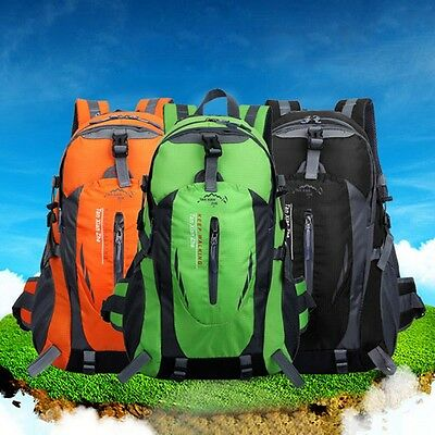 Outdoor Waterproof Camping Hiking Bag Travel Climbing Mountaineering Backpack 40