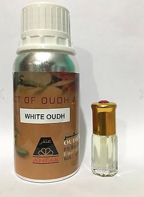 White Oudh By Oudh Al Anfar 3 Ml Exclusive Perfume Oil Long Lasting Woody Sweet